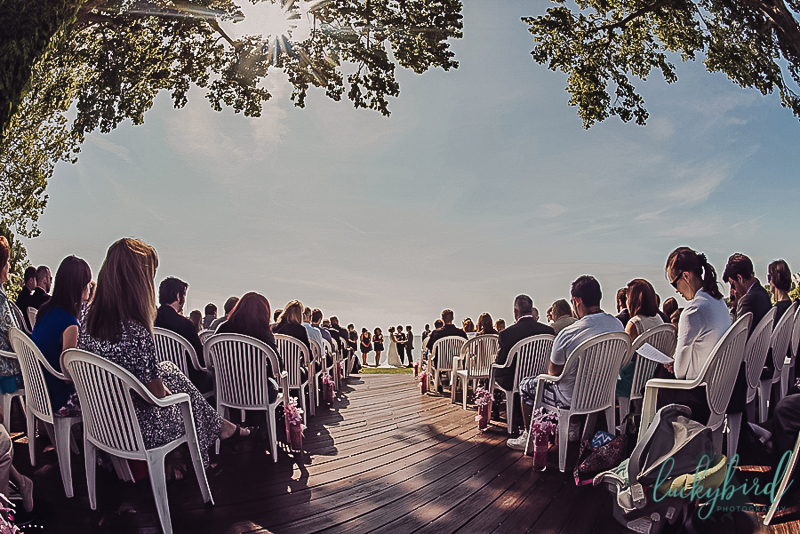 ceremony at catawba island club
