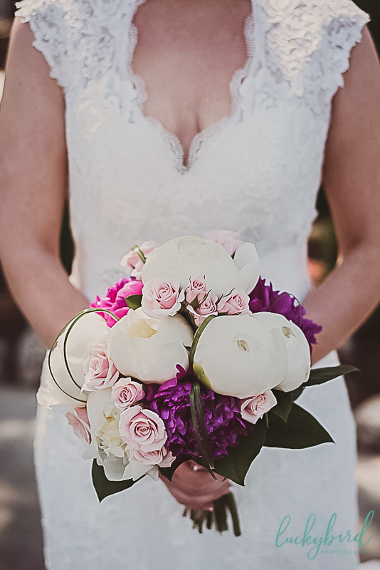 gorgeous bouquet at catawba island club