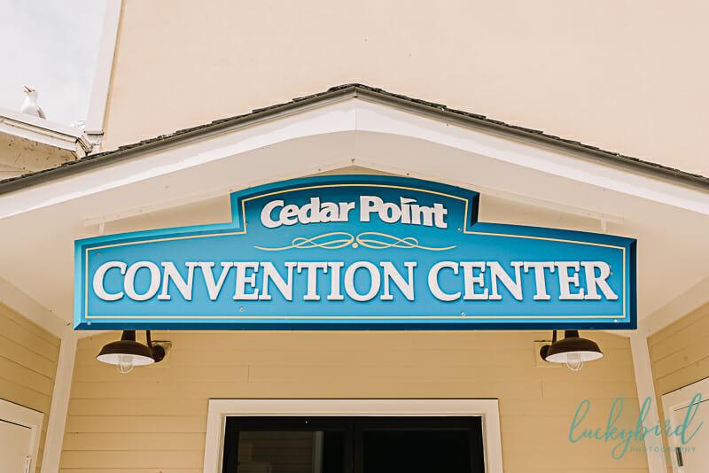 cedar point convention center wedding reception