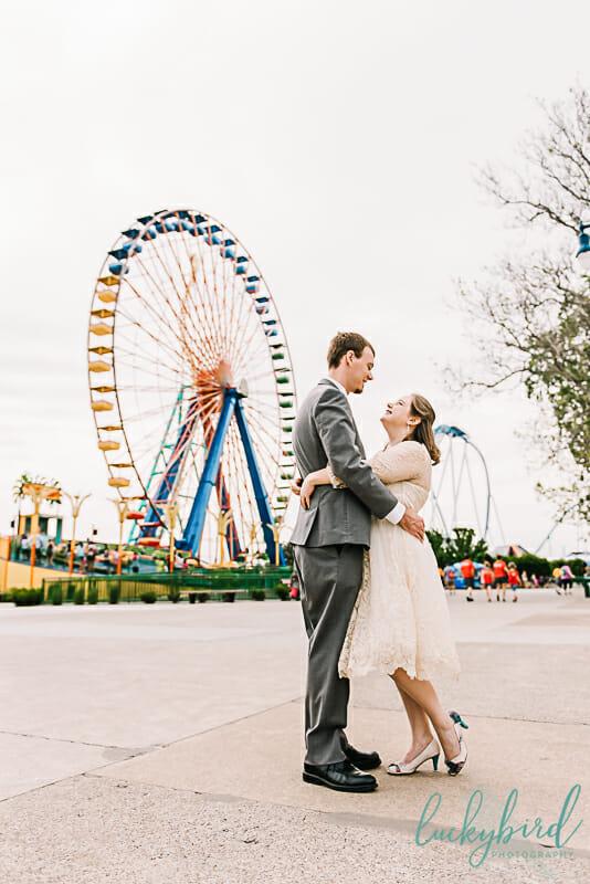 cedar point wedding photos