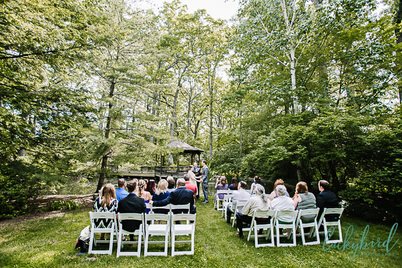 ceremony at toledo botanical garden
