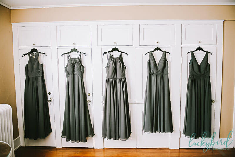 bridesmaids dresses at carranor