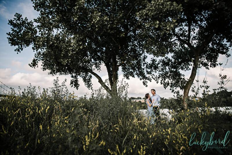 toledo urban park engagement photos