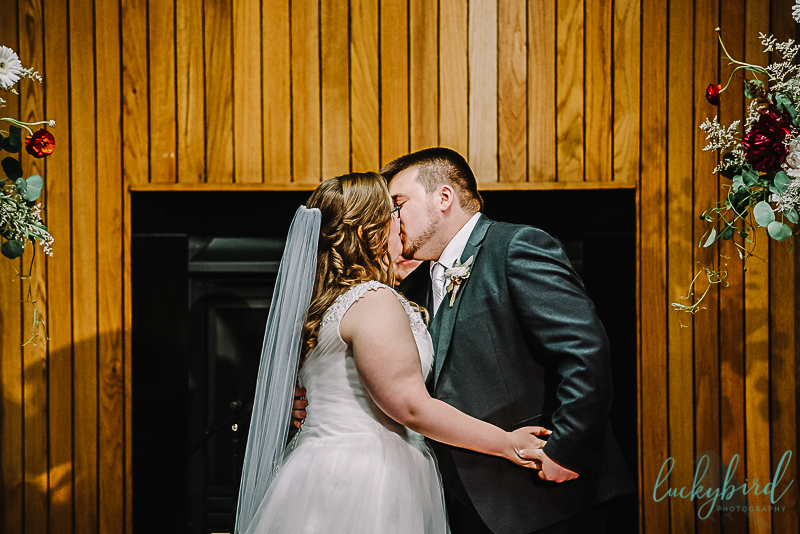 first kiss indoor pinnacle ceremony
