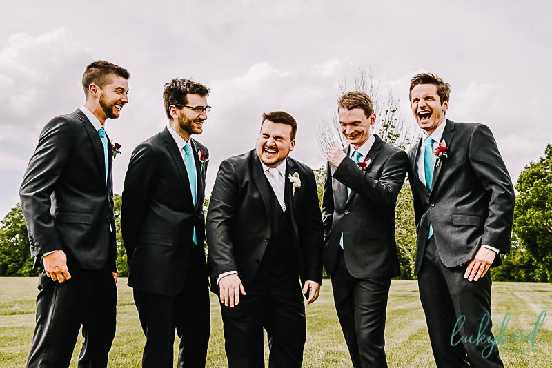 groomsmen at the pinnacle wedding