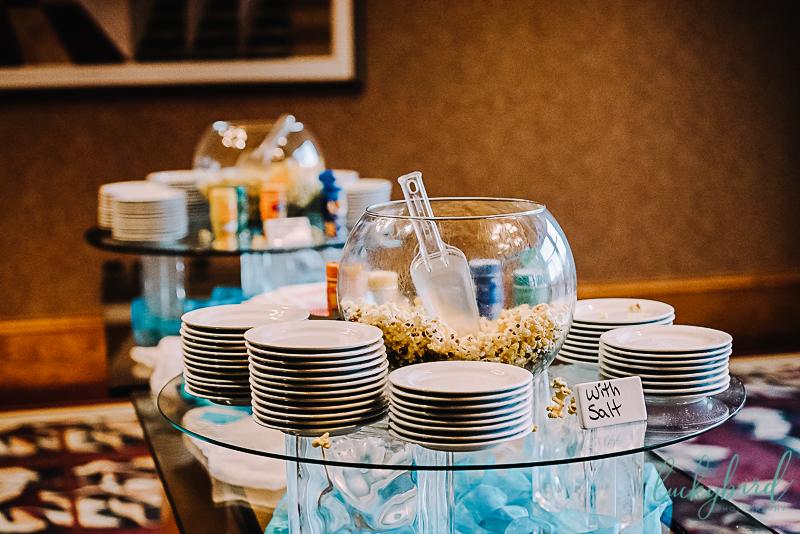 popcorn bar for wedding at the pinnacle