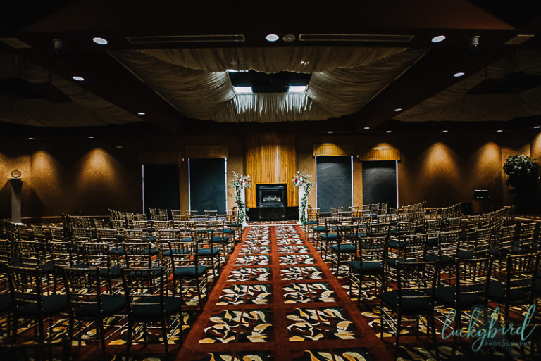the pinnacle indoor ceremony