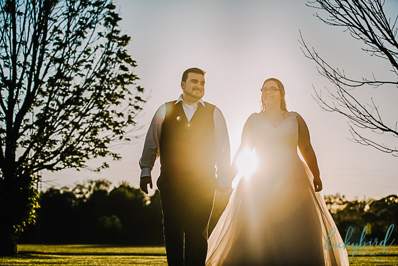 toledo sunset wedding photo at the pinnacle