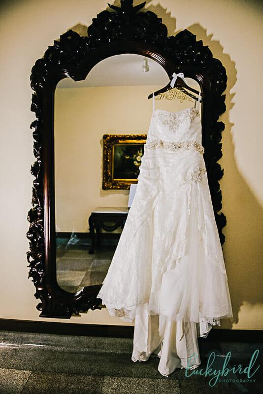 nazareth hall dress hanging