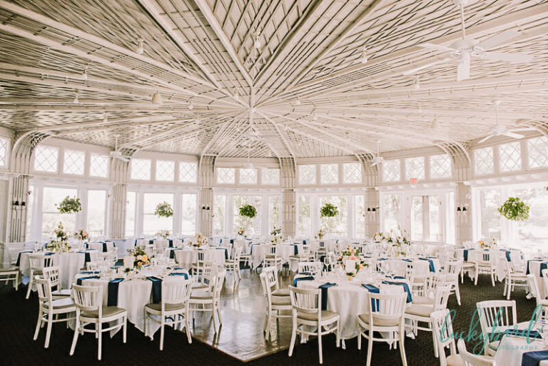 toledo country club wedding reception photo