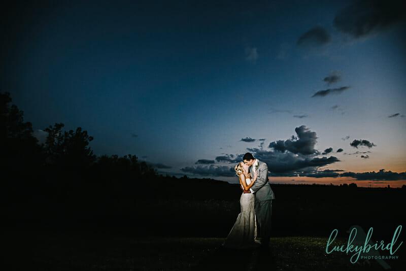 soserene sunset wedding photos
