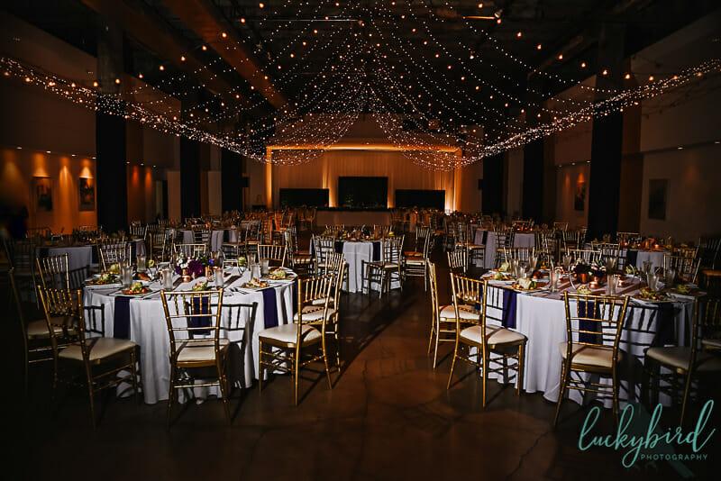 registry bistro wedding reception