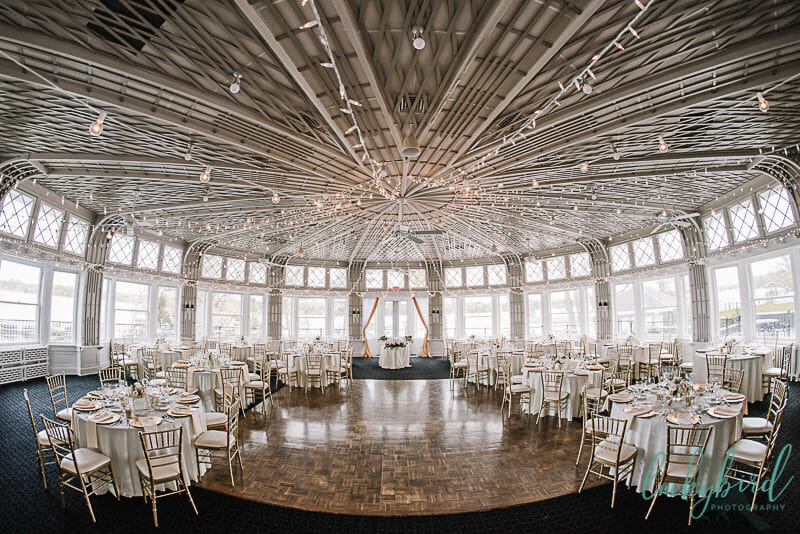 toledo country club ballroom wedding