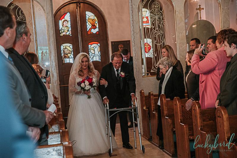 downtown toledo church wedding photos
