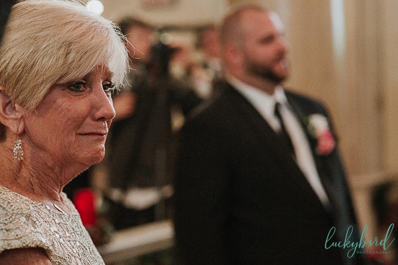 emotional toledo church wedding photos