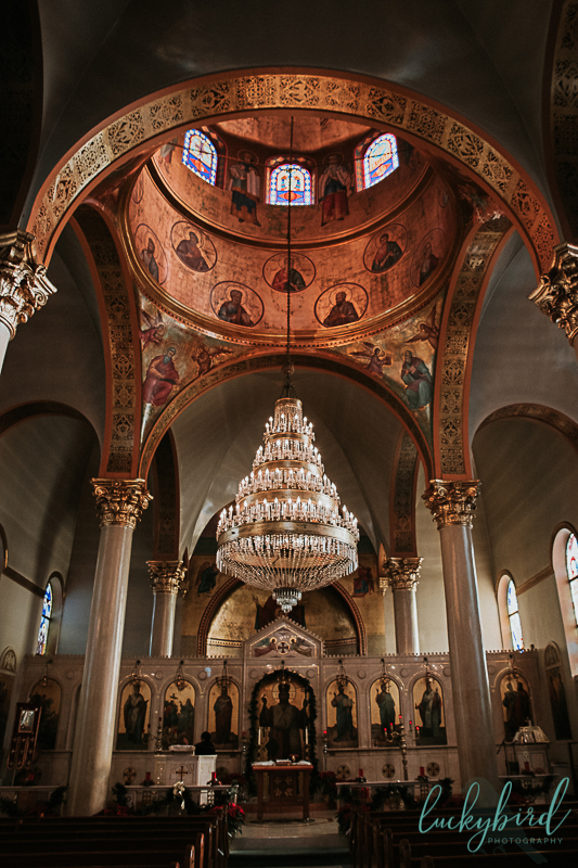 holy trinity toledo greek wedding