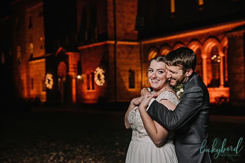nazareth hall winter wedding photography