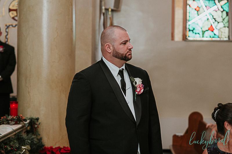 toledo groom first look