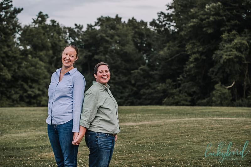 same sex cleveland engagement session