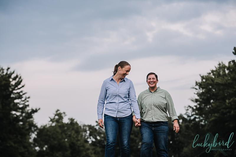 same sex ohio engagement photography