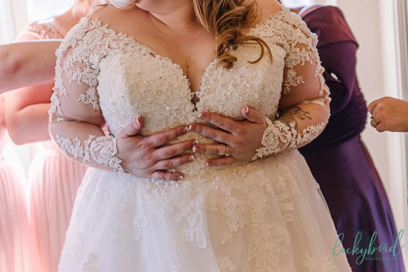belle amour bridal wedding dress