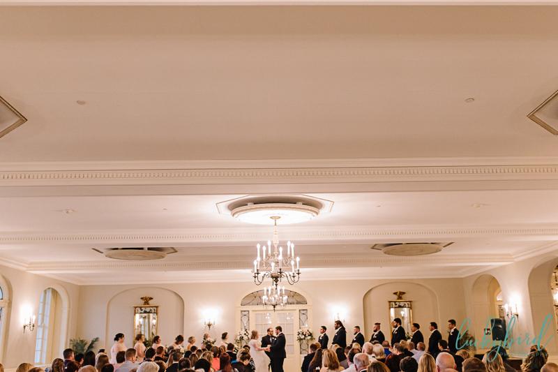 ceremony at lovett hall