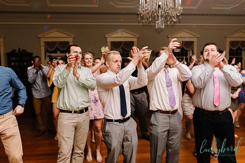 lovett hall reception dancing