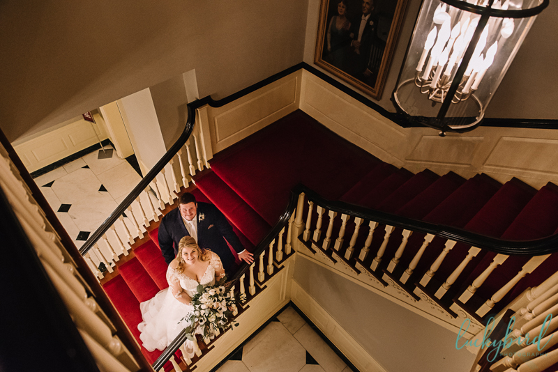 lovett hall staircase