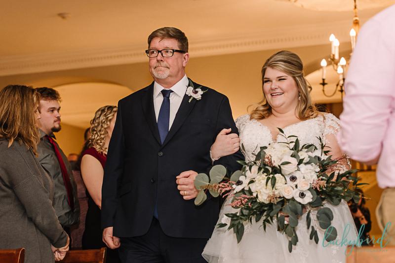 lovett hall wedding ceremony photo