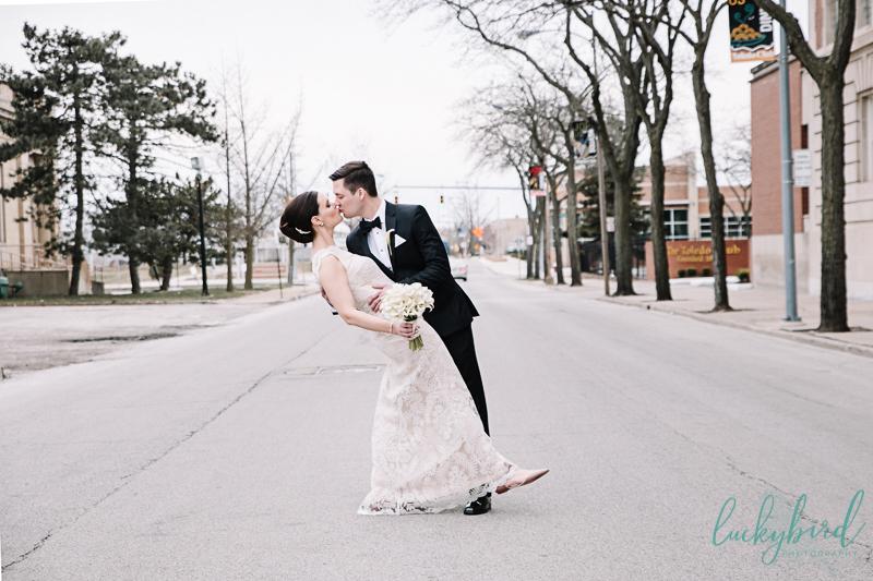 romantic toledo wedding photos