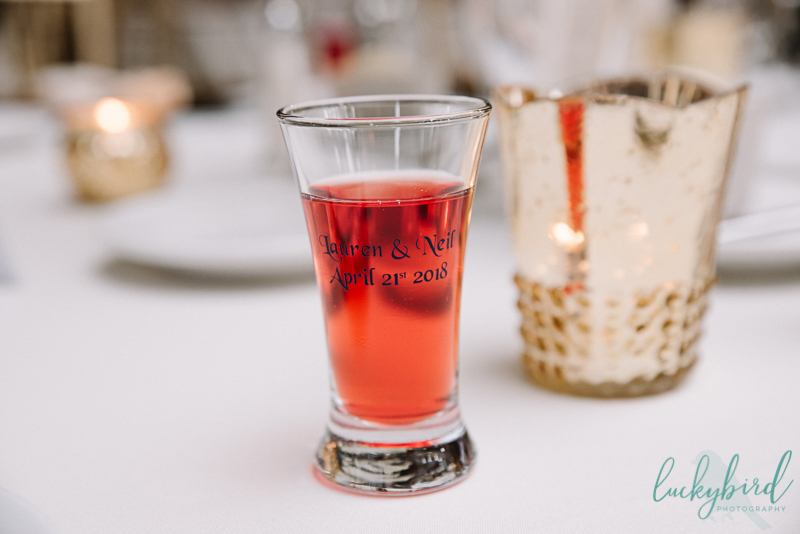 shots for toasts toledo wedding