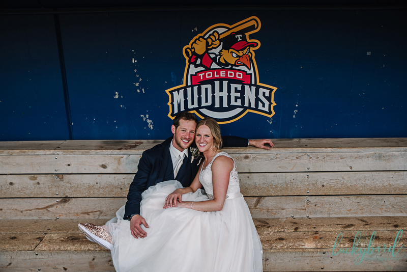 toledo mudhens wedding photos