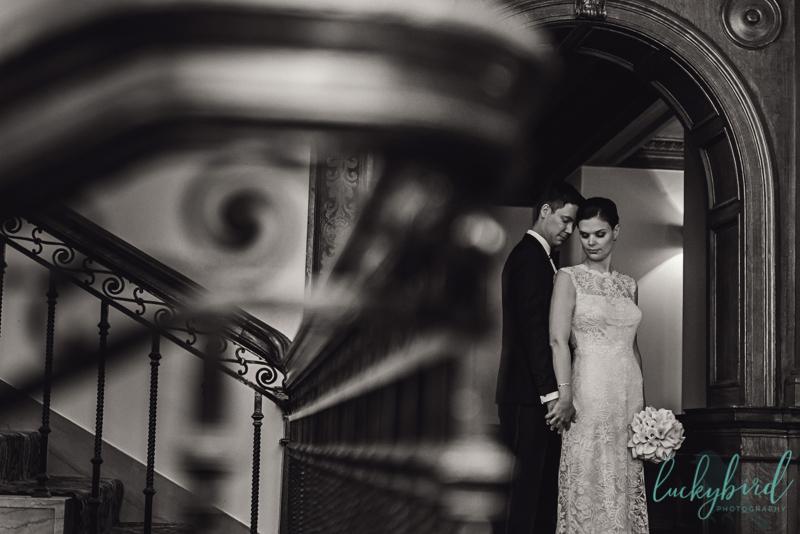 wedding photo at toledo club