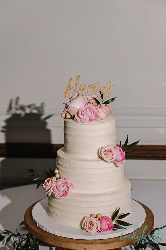 harry potter wedding cake topper always