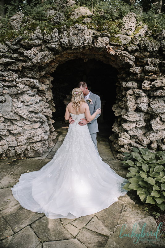 nazareth hall grotto wedding
