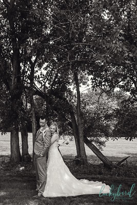 nazareth hall spring wedding photo