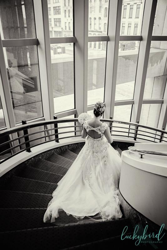 park inn bride staircase