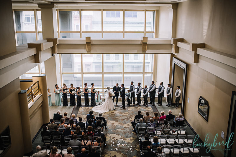 park inn wedding ceremony photo