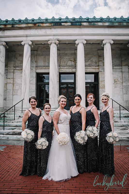 toledo museum of art bridesmaids photo