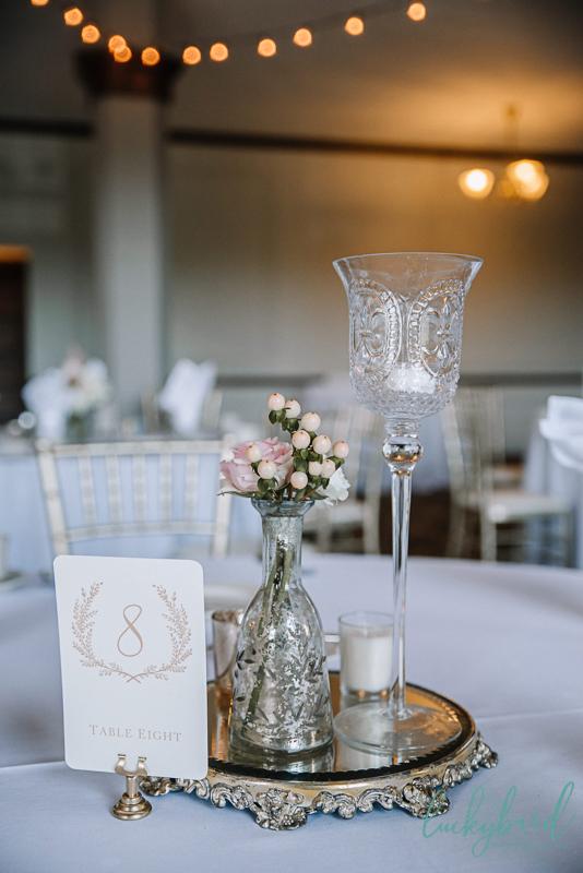 toledo wedding centerpieces