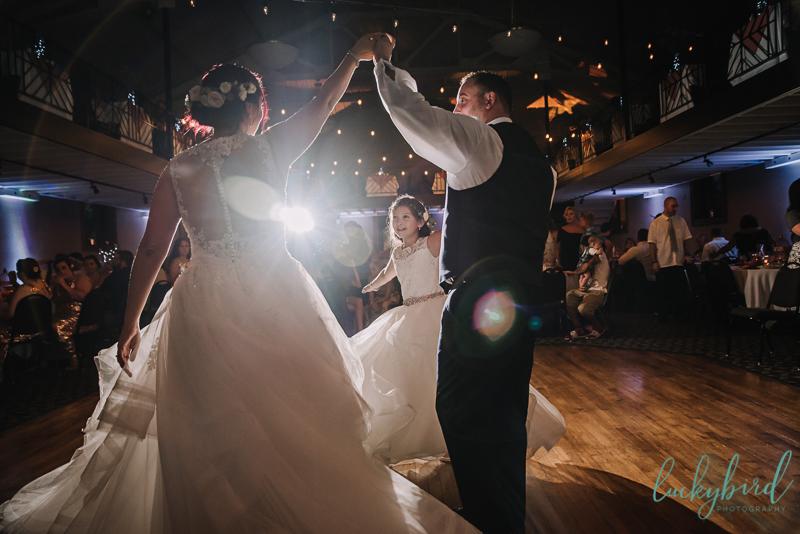 bride and groom ladyglen dancing photo