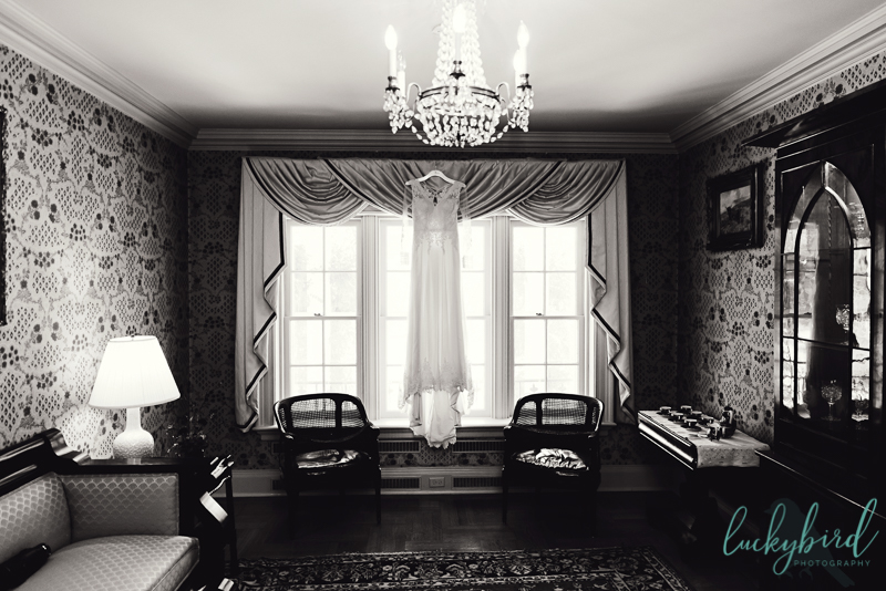 manor house toledo dress hanging