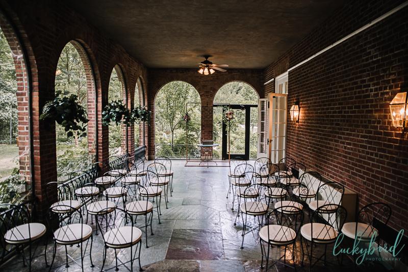 wildwood manor house ceremony photo