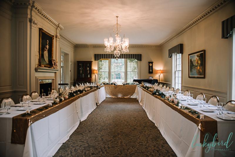 wildwood manor house reception space
