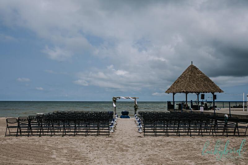 docks beach house ceremony and reception