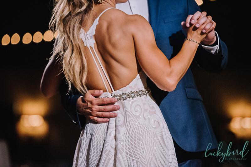 gorgeous lyman harbor wedding photos