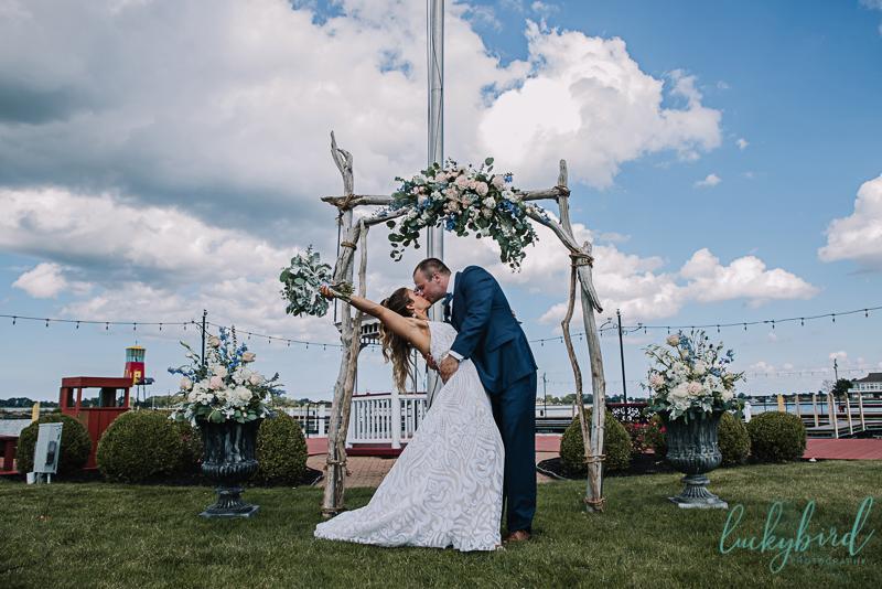 lyman harbor wedding photography