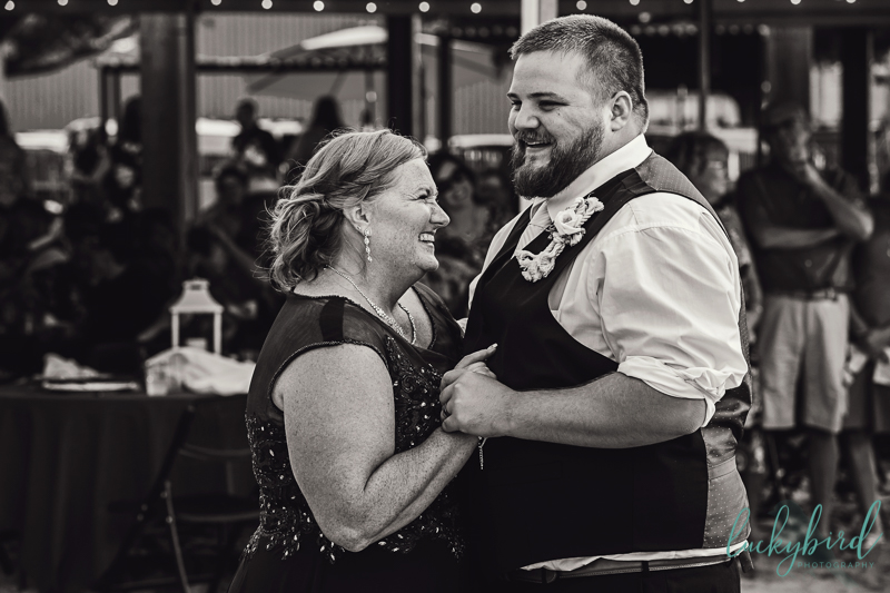 mother son dance photo