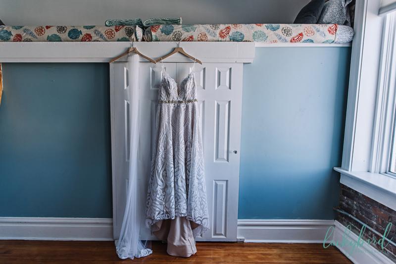 the loft sandusky wedding photo