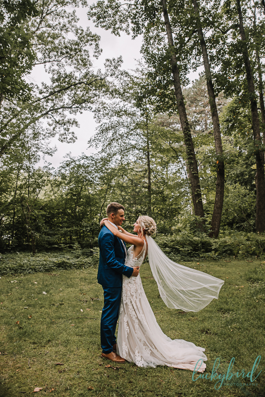 toledo botanical garden wedding photo